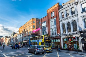 Dublin is vibrant! Confidence boosts social activity